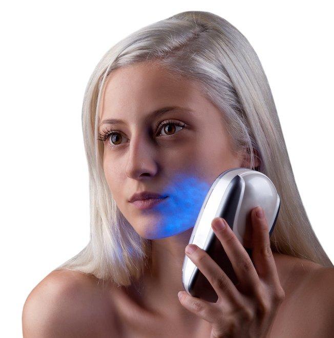 akne-lichttherapie-blaulicht