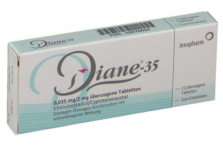 Diane 35 Pille gegen Akne Vorteile Nachteile