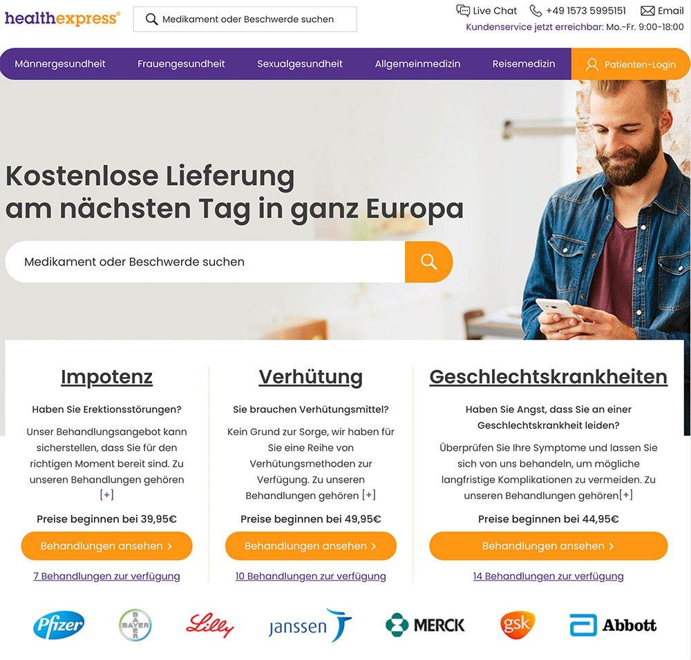 healthexpress-website